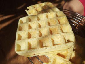 Przepis na chrupiące i lekkie gofry bez glutenu